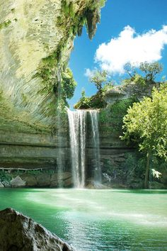 """Hamilton Pool"" in Dripping Springs, Texas"