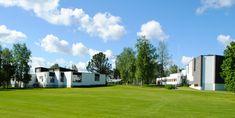 By Jonathan Rieke Alvar Aalto, Town Hall, Finland, Golf Courses, Architecture, School, Scandinavian, Style, Arquitetura