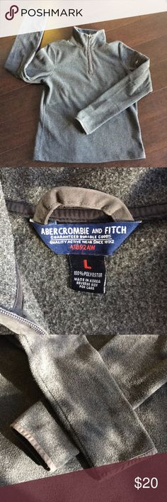 Abercrombie and Fitch Pullover Fleece Like new condition. Soft. Fits adult XS-S in my opinion. Abercrombie & Fitch Shirts & Tops Sweatshirts & Hoodies