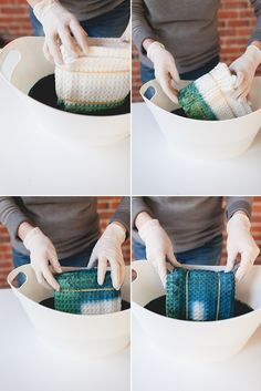 Do It Yourself Houseboat Strategies - Building Your Own Houseboat Try This Japanese Indigo Dye Method - Learn The Art Of Shibori With This Easy Diy On Arts And Crafts, Diy Crafts, Fabric Crafts, Ice Dyeing, Ideias Diy, Do It Yourself Crafts, Indigo Dye, Diy Sewing Projects, Free Sewing