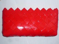 handmade red purse-handbag