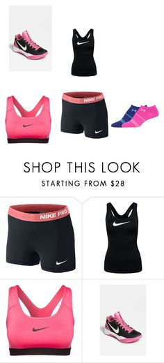 """""""Volleyball"""" by daisy-owens on Polyvore featuring NIKE and Under Armour"""