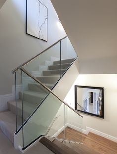 Contemporary Staircase - English Interiors