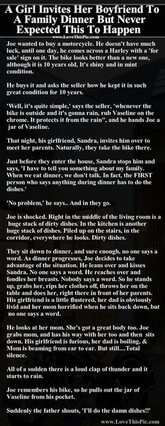 A Girl Invites Her Boyfriend To A Family Dinner But Never Expected This To Happen funny jokes story lol funny quote funny quotes funny sayings joke hilarious humor stories funny jokes relationship humor: