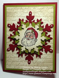 Stampin' All Night Stampin' Up! Best of Christmas Nancy Amato