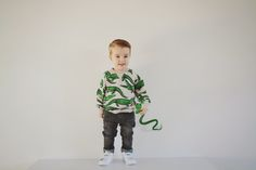 Saved with style: Mini fashion: Noah's outfit #3 Mr. Kroko