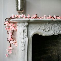 frangipani pink blossom lights