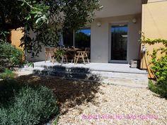 L e jardin de l'appartement Jardin Aiguelongue à Montpellier