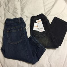 Toddler Boy's Jeans Gymboree jeans, brand new, one still has tags, other I took the tags off to try them on my son and they were too small for him. Jeans Straight Leg