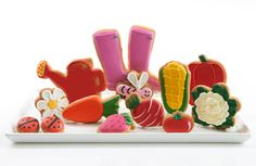 Mothers Day gift.  Themed Cookies from Elenis New York - The Gardener