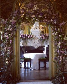 Pin for Later: These Spectacular Floral Wedding Arches Break the Mold Overflowing Indoors