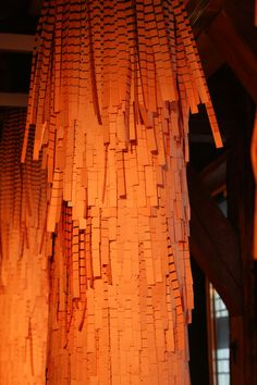 Zeeuws Museum - Middelburg. Fringe-project van Henrik Vibskov en Andreas Emenius, een tentoonstelling in 2009.  Foto: G.J. Koppenaal - 28/3/2009