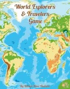 World Explorers and Travelers Game - What do you know about world explorers and travelers? In this game, you and your opponents will take turns answering que 6th Grade Social Studies, Social Studies Classroom, Social Studies Activities, Teaching Social Studies, History Activities, Geography Games, Teaching Geography, World Geography, Human Geography