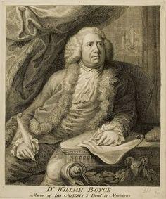 William Boyce (1711-1779), engraving (1775), by John Sherwin (1751-1790).