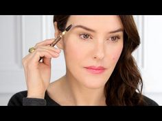 Lancome Beauty : How to Use an Eyebrow Pencil Tutorial by Lisa Eldridge with Lancôme (Aug 2015)