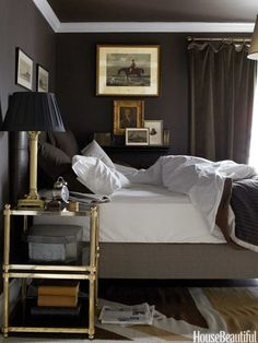 masculine bedroom. all the king's houses & all the king's men