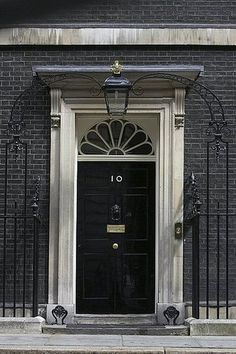No. 10 Downing Street, London.