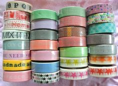 Washi Tape lve too many rolls in this pic