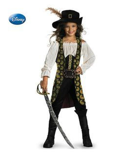 Check out Deluxe Angelica Costume - Pirates of the Carribean Girls Costumes  from Wholesale Halloween Costumes 71892424d0da