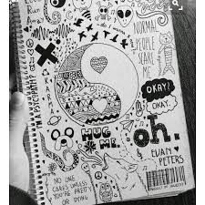 75 Creative Doodle Art Tutorials and Examples – Doodles Doodle Drawings, Cute Drawings, Random Drawings, Cool Easy Drawings, Simple Doodles Drawings, Hipster Drawings, Pencil Drawings, Tumblr Drawings Easy, Notebook Doodles