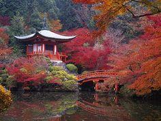 Bentendo Hall Daigoji Kyoto Japan