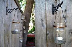 Use household items, decorative displays and recycled objects - Great ideas to Decorate your Garden Fence.