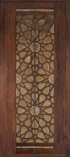 Pair of minbar doors [Egypt] (91.1.2064) | Heilbrunn Timeline of Art History | The Metropolitan Museum of Art