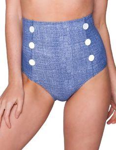 Sheridyn Swim - Kylie high-waisted bikini bottoms - Medium - Denim Sheridyn Swim,http://www.amazon.com/dp/B00ATZ1E2Y/ref=cm_sw_r_pi_dp_94wHrb4AB75F4E84
