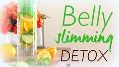 Natural Belly Slimming Detox Water Recipe