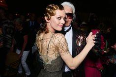 Vanessa Paradis and Karl Lagerfeld - May 3, 2016 #ChanelCruiseCuba