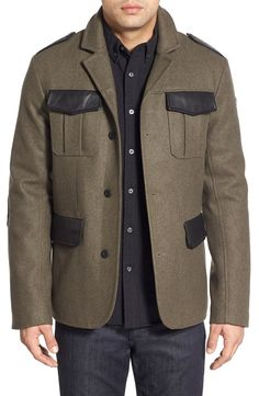 Victorinox Swiss Army® 'Oberland' Button Front Jacket