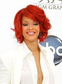 I would love to do this red!! -  popculturez.com #Rihanna #Rihannanavy