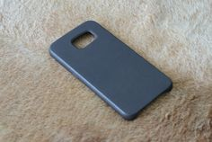 custodia cover vera pelle bumper Ultra Slim per Samsung s6 di RecordModa su Etsy