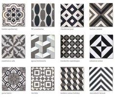 Image result for moorish tile bathroom black and white