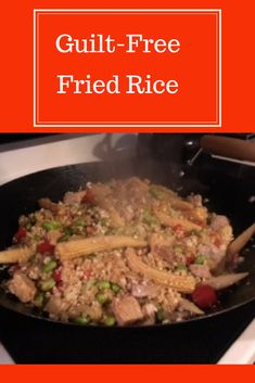 Love Fried Rice, but hate how unhealthy it is? Then give this recipe a try - healthy for your body and wallet! via @LeaveItToMema9580