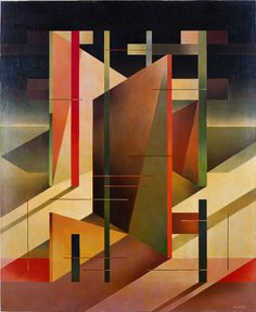 "design-is-fine: "" Aldo Galli, untitled, 1947 """