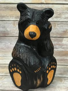 Howie wood bear | Etsy