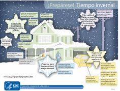 Tiempo invernal: ¿Está preparada su familia para el tiempo invernal? Nuestra infografía de la serie ¡Prepárese! sobre el tiempo invernal puede ayudarlo a alistarse.