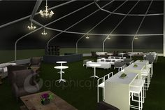 Outdoor Event Setup - Concept Design