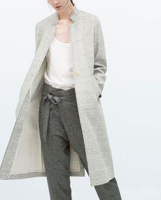 VELOUR COAT-Coats-Coats-WOMAN | ZARA United States
