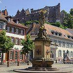 Heidelberg Marktplatz by Rich2012