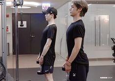 They both are getting thicc 😏😏 Bts Photo, Foto Bts, K Pop, Bts Ships, Jimin, Yoongi, Min Suga, V Taehyung, Bts Video