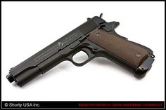 Cybergun/KJW Colt M1911-A1 Full Metal CO2 Blow Back Softair Pistol - AIRSOFT SHORTY USA