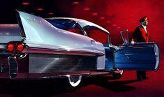 Plan59 :: Classic Car Art :: Vintage Ads :: 1958 Cadillac Fleetwood Sixty Special