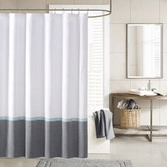 Ink + Ivy Hudson Shower Curtain Color: