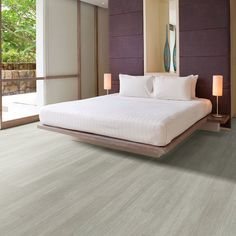 Chatham Walnut Castle & Cottage Hallmark Luxury Vinyl Flooring by Hallmark Floors