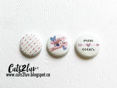 3 Badges 1 Belle demoiselle par Cuts2luv sur Etsy