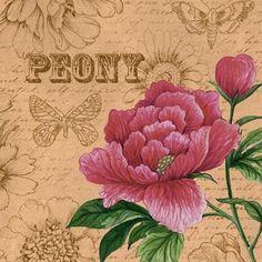 Craft Flower Garden-1 by Elena Vladykina | Ruth Levison Design