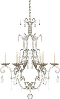 MIDDLETON 6-LIGHT CHANDELIER  This is beautiful in a dining room