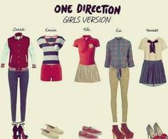 One Direction clothes that girls can wear. Btw, I'm probably gonna get one of these...